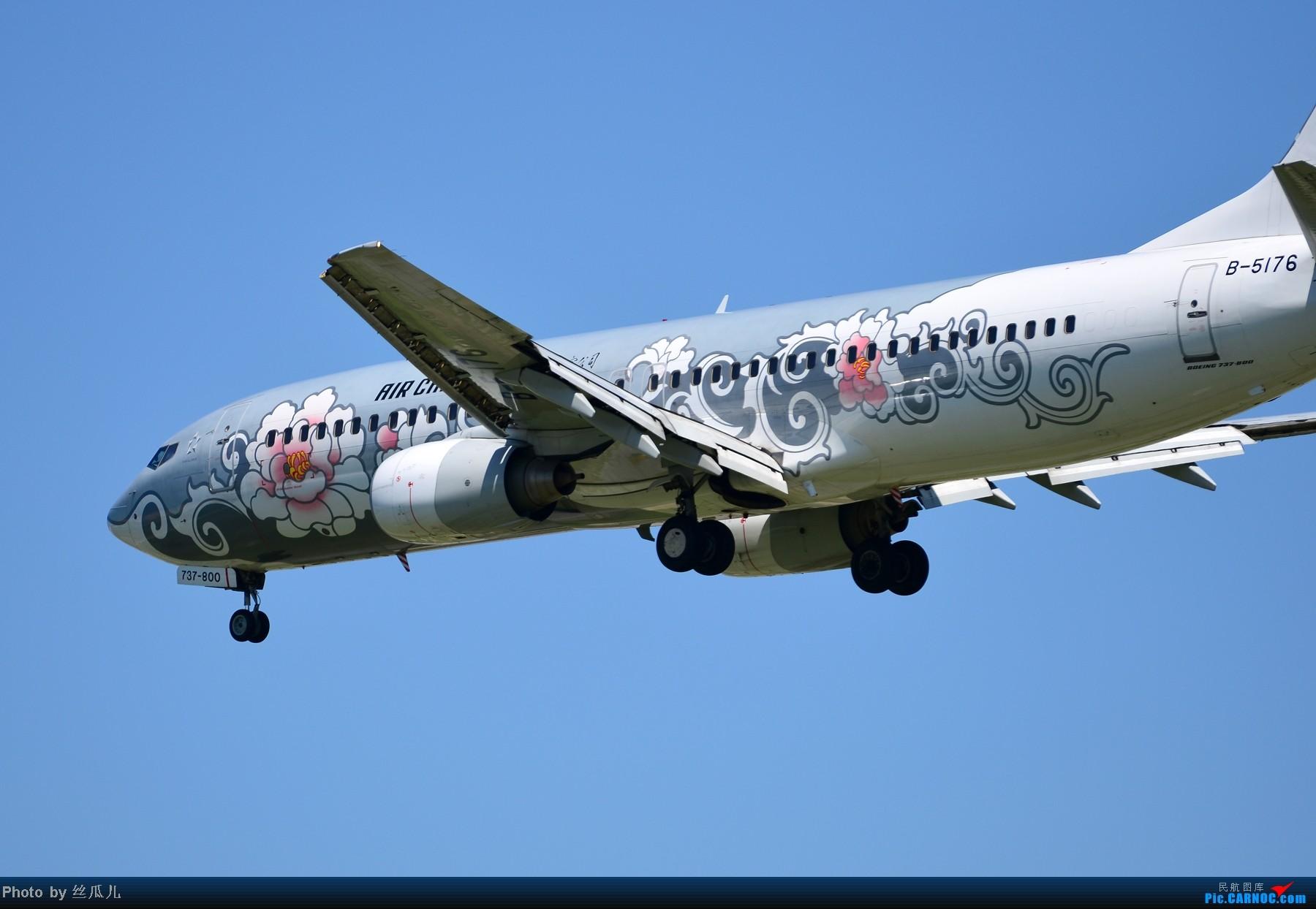 Re:[原创]跟擦航牡丹机上了 BOEING 737-800 B-5176 中国北京首都机场