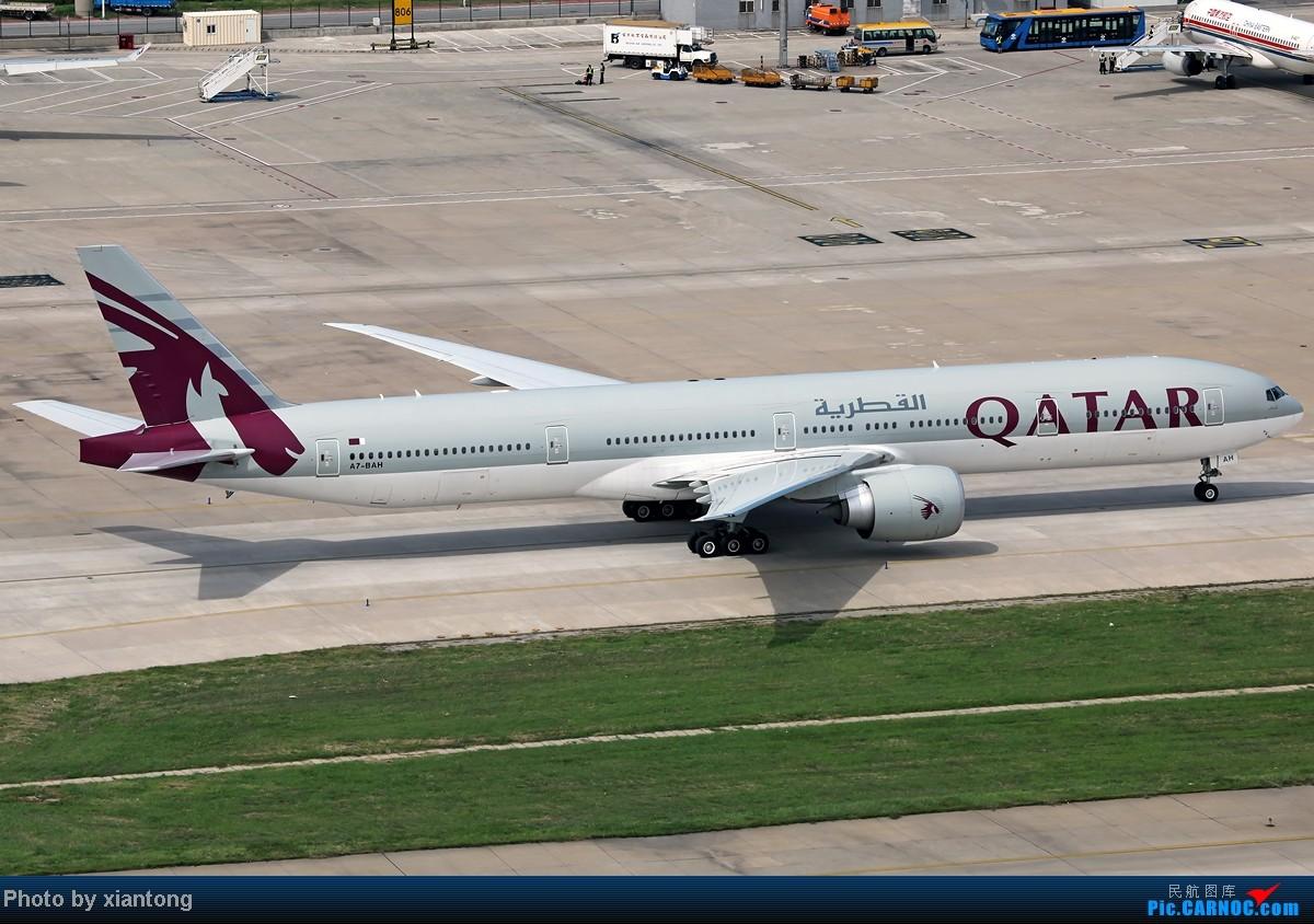 [原创]『XIANTONG与飞机系列』哥,再给一次机会吧? --- 对不起,我是213飞友 [10P] BOEING 777-3DZ/ER A7-BAH 中国北京首都机场