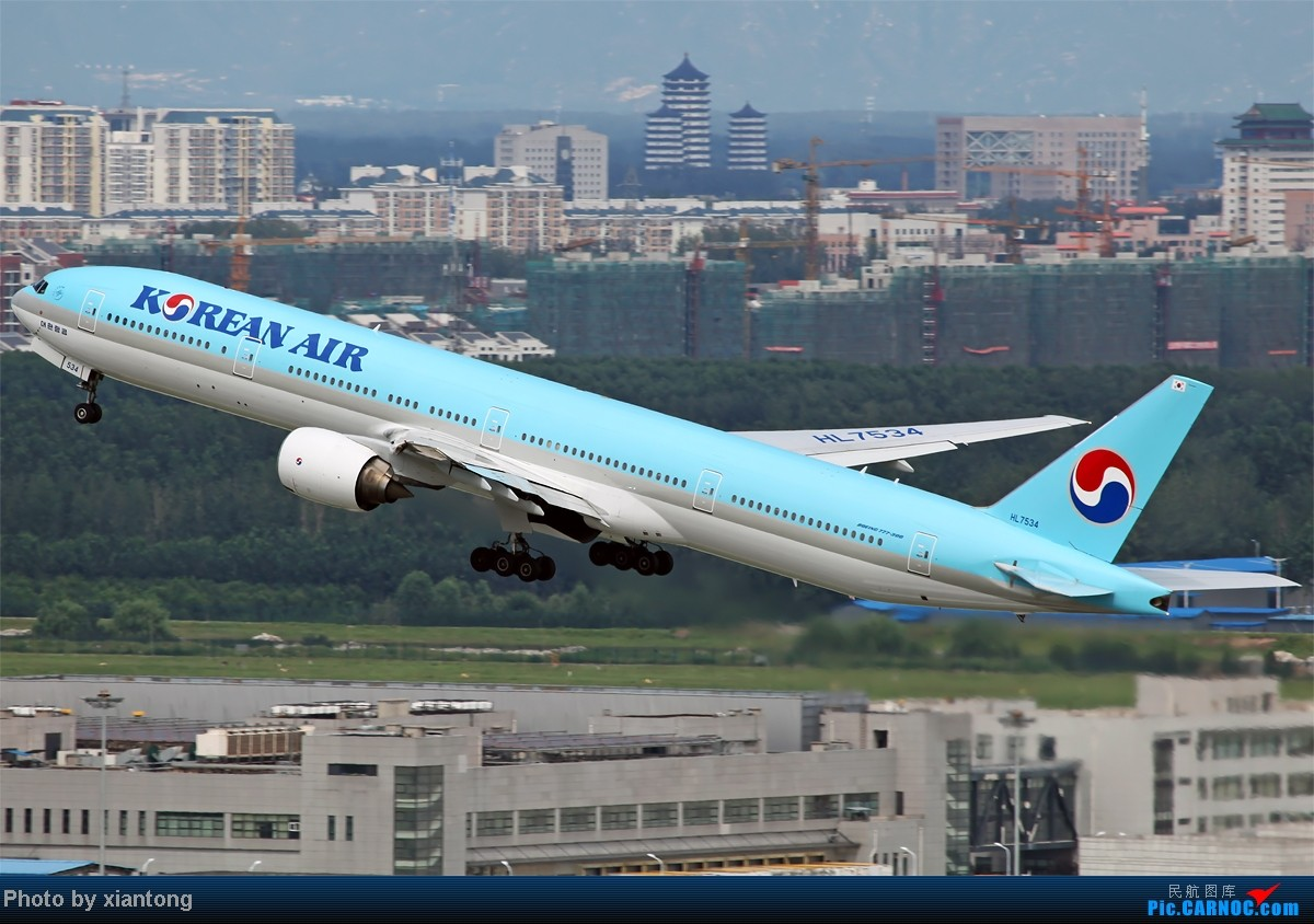 Re:[原创]『XIANTONG与飞机系列』哥,再给一次机会吧? --- 对不起,我是213飞友 BOEING 777-3B5 HL7534 中国北京首都机场