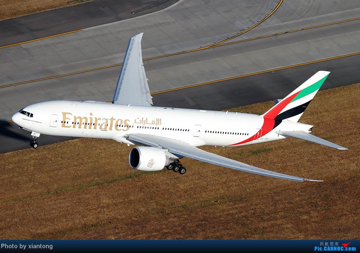Re:[原创]『XIANTONG与飞机系列』哥,再给一次机会吧? --- 对不起,我是213飞友 BOEING 777-21H/LR A6-EWC 美国西雅图机场