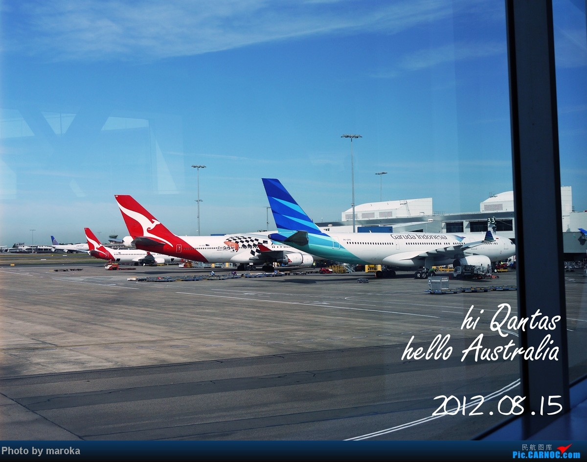 Re:[原创]暑期之旅,北京-上海-悉尼-布里斯班-黄金海岸-奥克兰-墨尔本-上海-北京。    澳大利亚悉尼金斯福德·史密斯机场