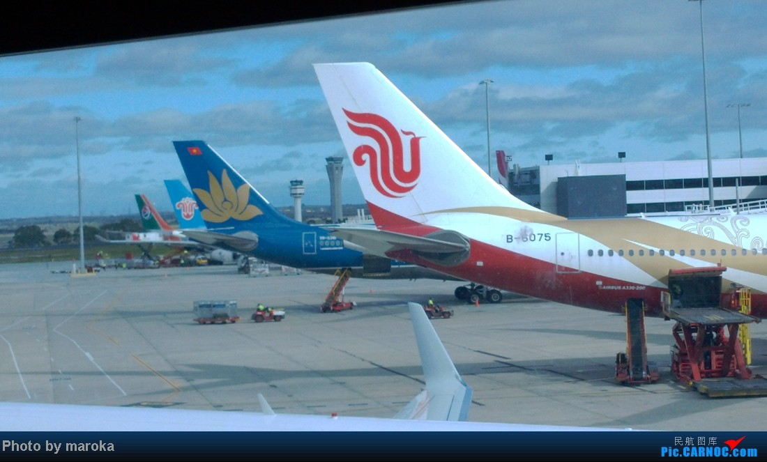 Re:[原创]暑期之旅,北京-上海-悉尼-布里斯班-黄金海岸-奥克兰-墨尔本-上海-北京。    澳大利亚墨尔本机场