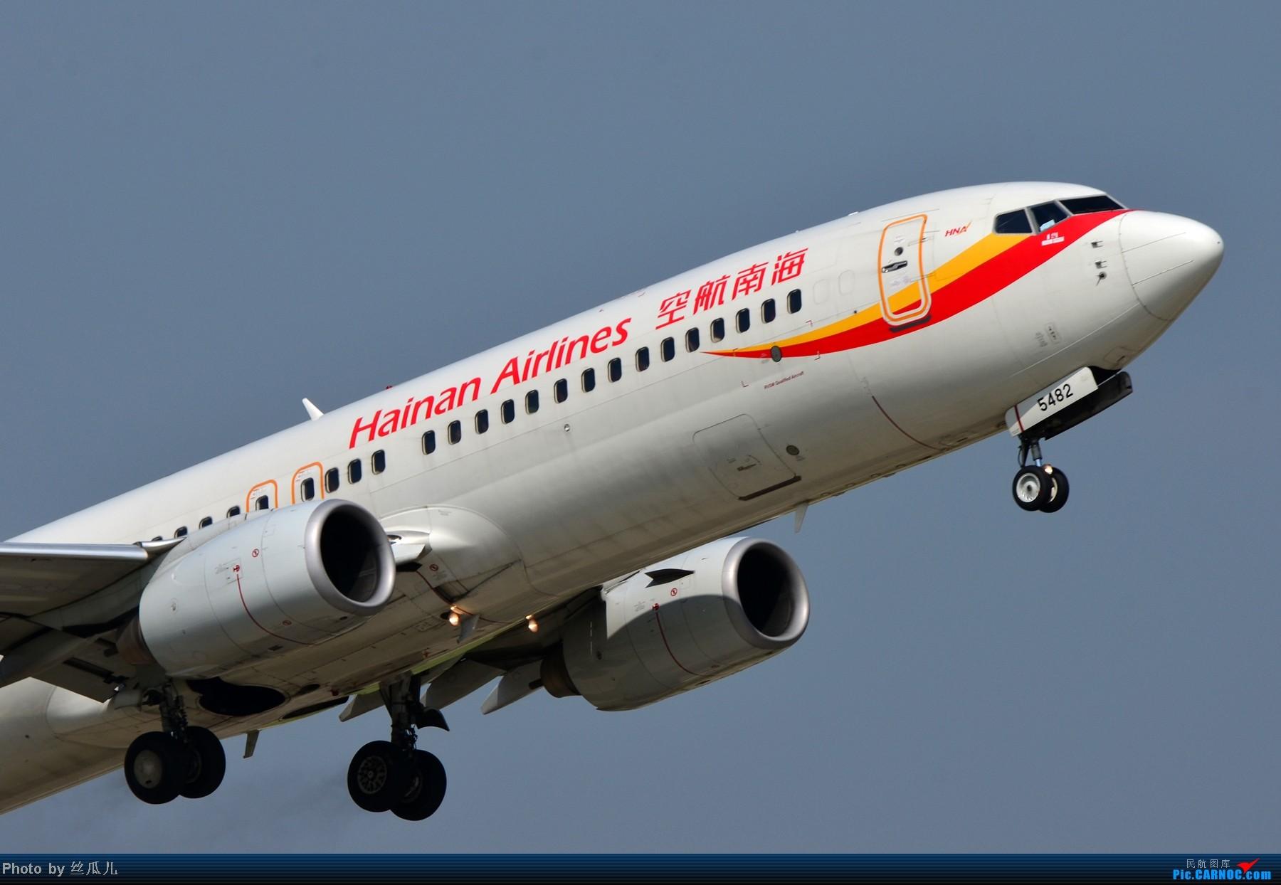 [原创]大清早来点带劲的 BOEING 737-800 B-5482 中国杭州萧山机场