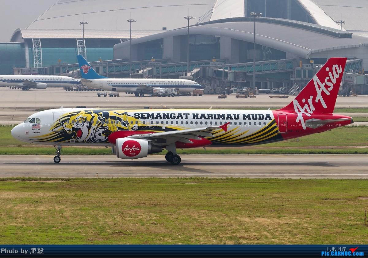 Re:[原创][CASG]亚洲航空的彩绘机 AIRBUS A320-200 9M-AFI 中国广州白云机场