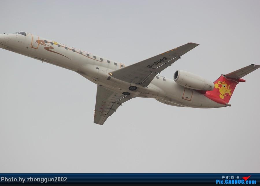 Re:[原创]再次来到呼和浩特机场,找到了一个不错的位置,拍了点照片。 EMBRAER ERJ-145 B-3093 中国呼和浩特白塔国际机场