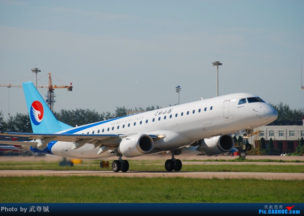 Re:[原创]【SJW】久违的家乡,久违的机场,石家庄,我在这 EMBRAER E-190 B-3208 中国石家庄正定机场