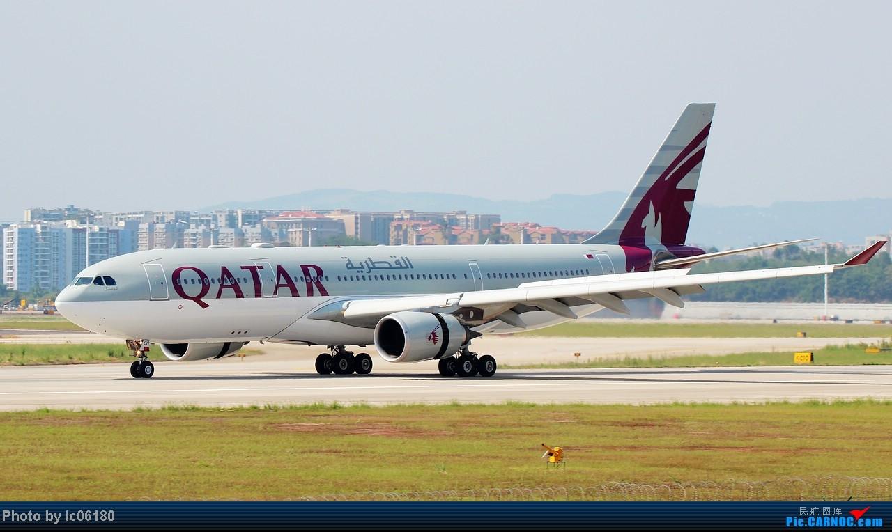 Re:[原创]『lc06180』CKG - 跑道20R落地 AIRBUS A330-200 A7-ACD 中国重庆江北机场