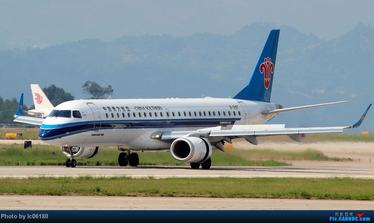 Re:[原创]『lc06180』CKG - 跑道20L落地 EMBRAER E-190 B-3197 中国重庆江北机场