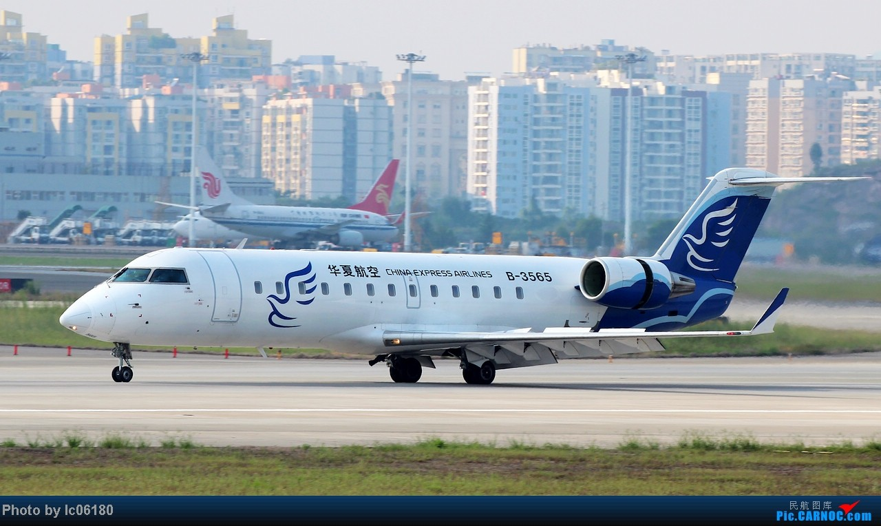 Re:[原创]『lc06180』CKG - 跑道20L落地 BOMBARDIER (CANADAIR) CRJ-200 B-3565 中国重庆江北机场