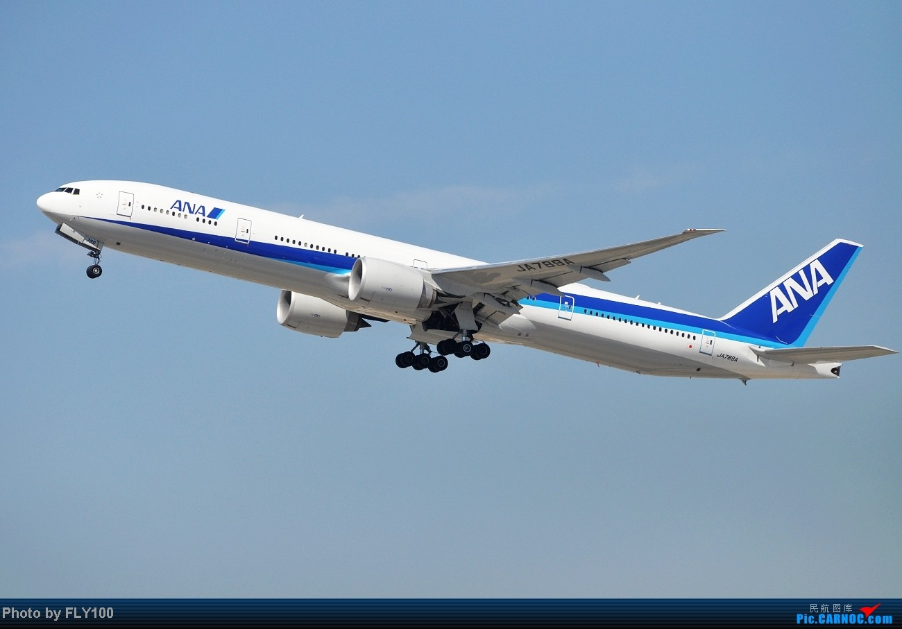 Re:[原创]【LAX】每次来都能打到点新鲜玩意 BOEING 777-300 JA789A 美国洛杉矶机场