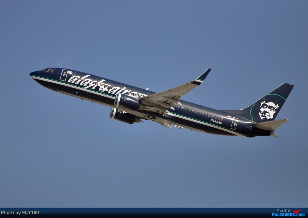 Re:[原创]【LAX】每次来都能打到点新鲜玩意 BOEING 737-800 N548AS 美国洛杉矶机场