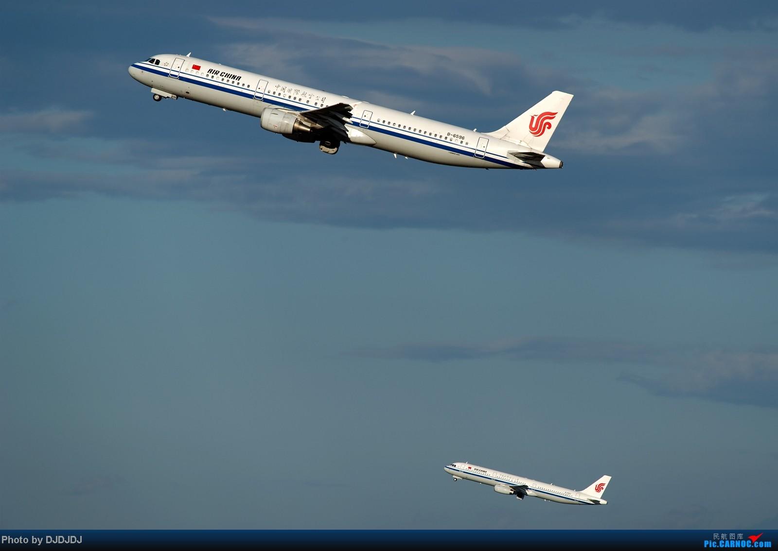 [原创]【BLDDQ】仓老师教我们如何打飞机,发哥教我们如何打好飞机,打双飞就要自己练鸟 AIRBUS A321-200 B-6596 中国北京首都机场