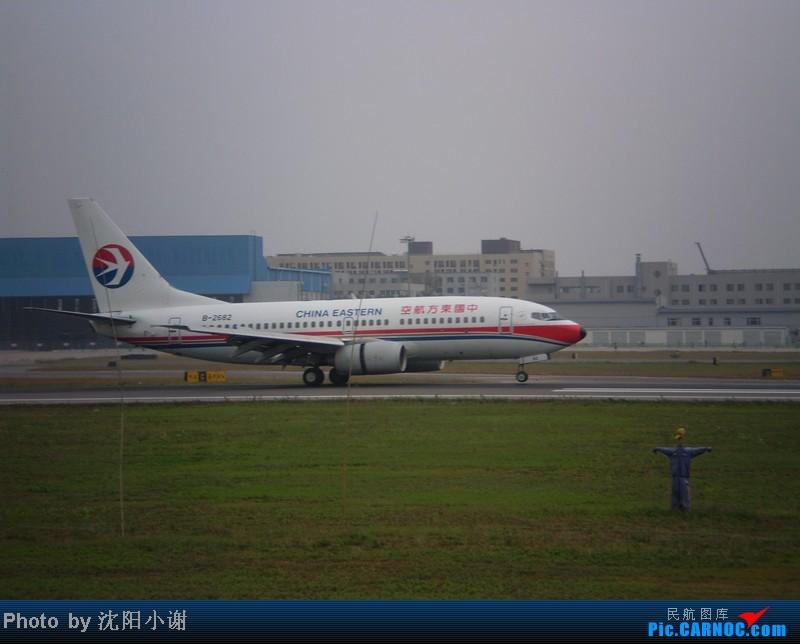 [原创]沈阳桃仙机场 9月25日 9月26日拍摄 汉莎航空星空联盟A340 东方航空A300 BOEING 737-700 B-2682 中国沈阳桃仙机场