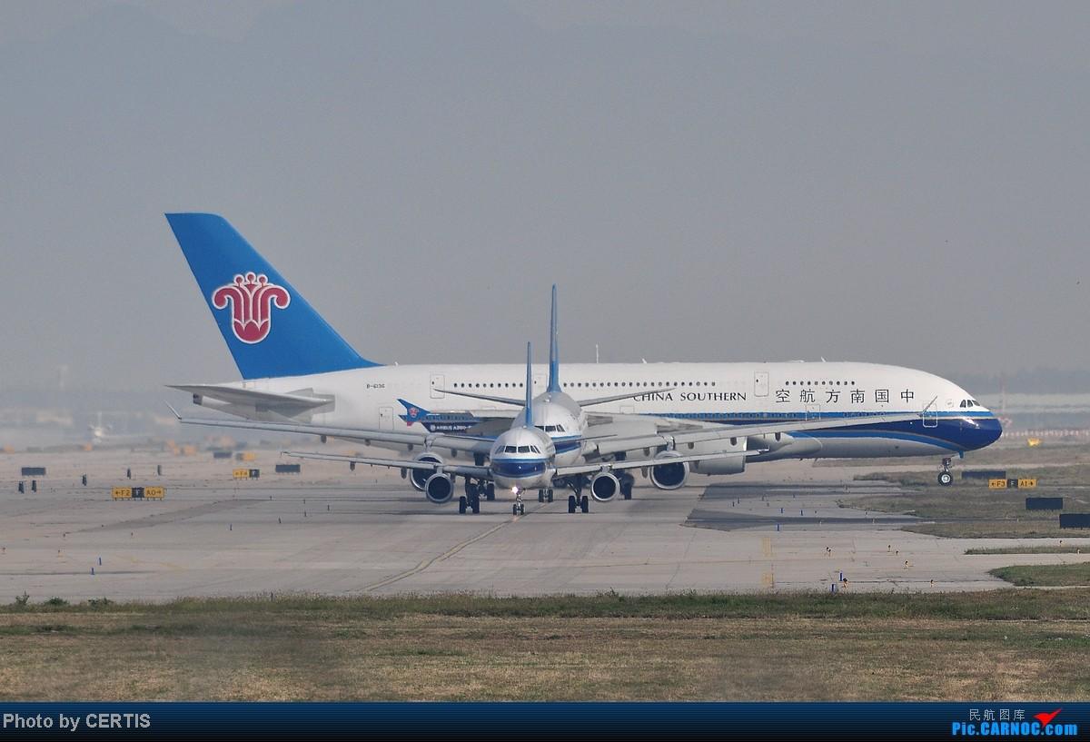 Re:[原创]10月3号拍机大杂烩 AIRBUS A380 B-6136 PEK
