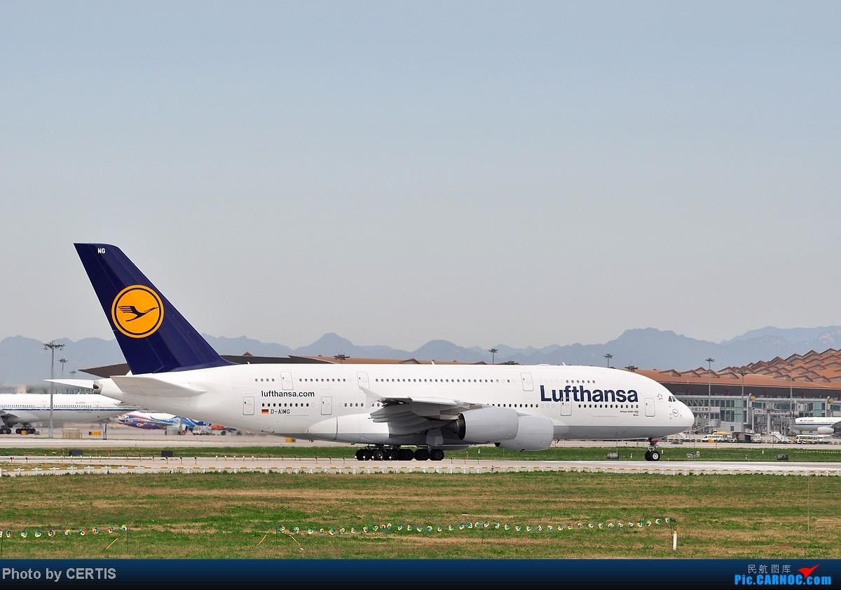 Re:[原创]10月3号拍机大杂烩 AIRBUS A380 D-AIMG PEK