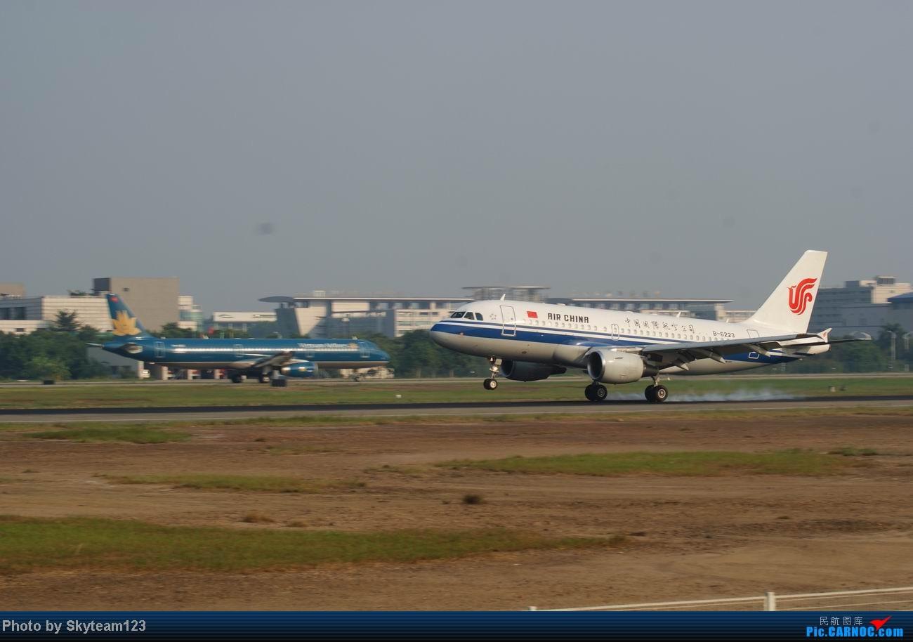 Re:[原创]白云西跑拍机,再见铁丝网,迎接新角度。 AIRBUS A319-100 B-6223