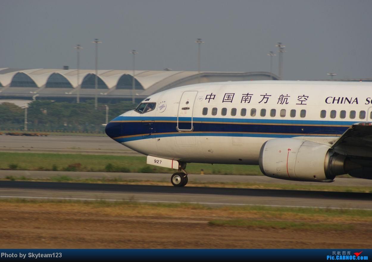 Re:[原创]白云西跑拍机,再见铁丝网,迎接新角度。 BOEING 737-300 B-2927