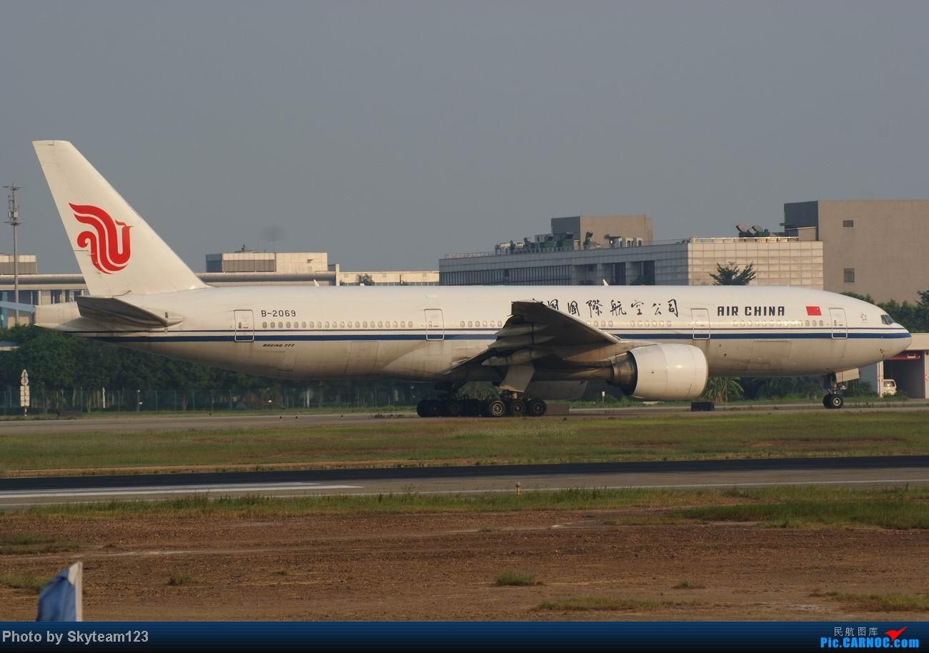 Re:[原创]白云西跑拍机,再见铁丝网,迎接新角度。 BOEING 777-200 B-2069