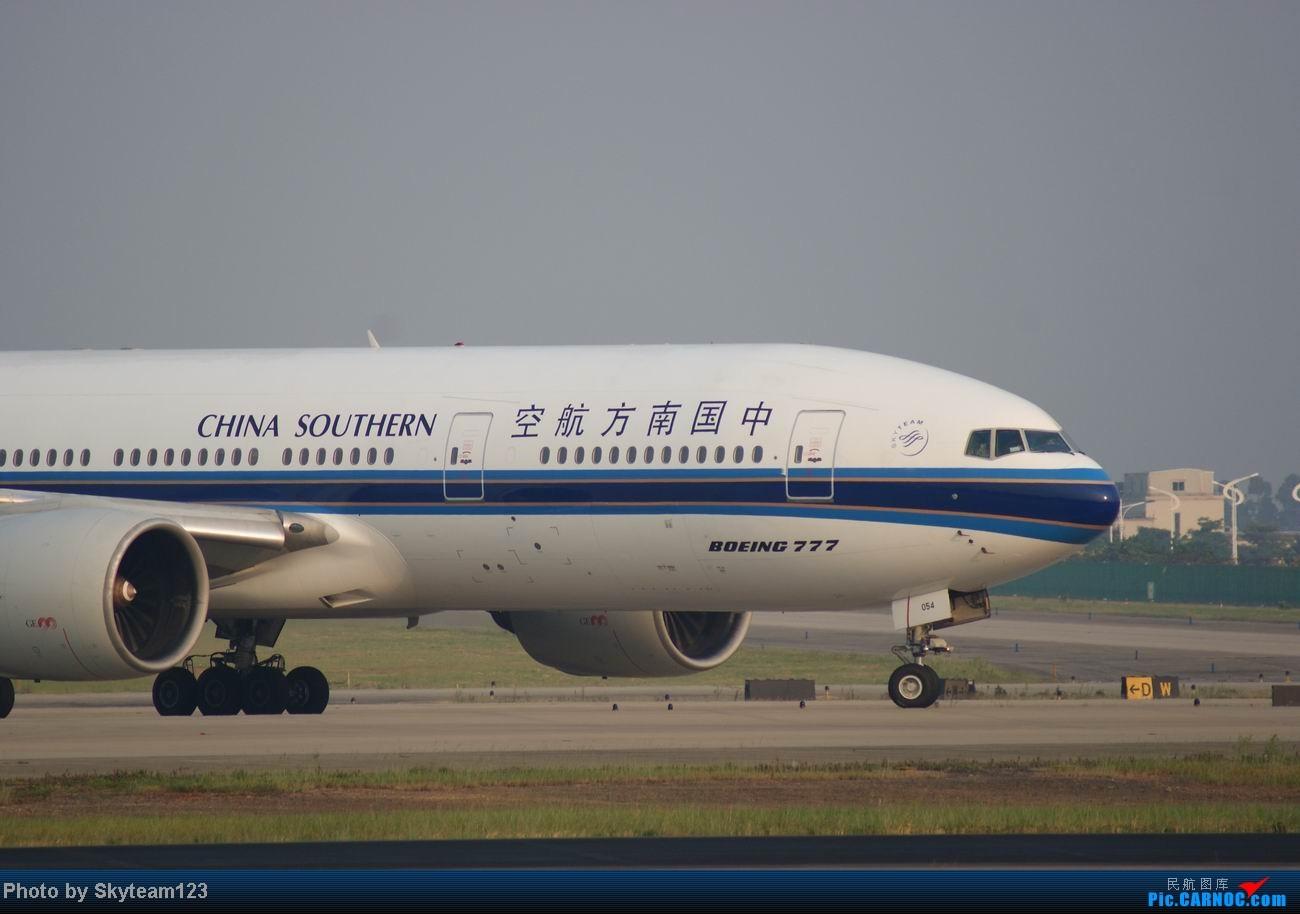 Re:[原创]白云西跑拍机,再见铁丝网,迎接新角度。 BOEING 777-200 B-2054