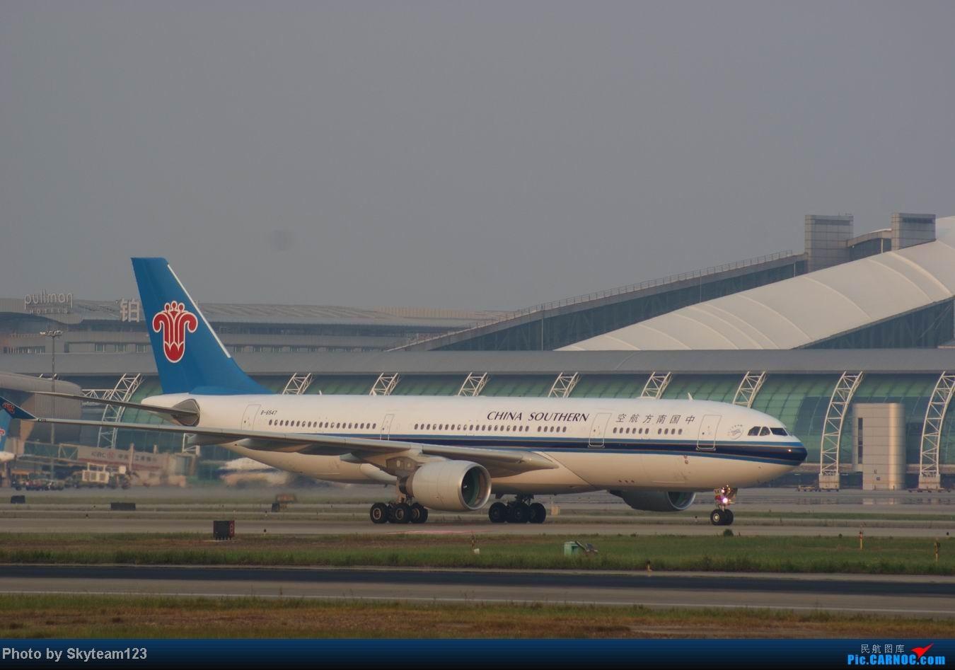 Re:[原创]白云西跑拍机,再见铁丝网,迎接新角度。 AIRBUS A330-200 B-6547