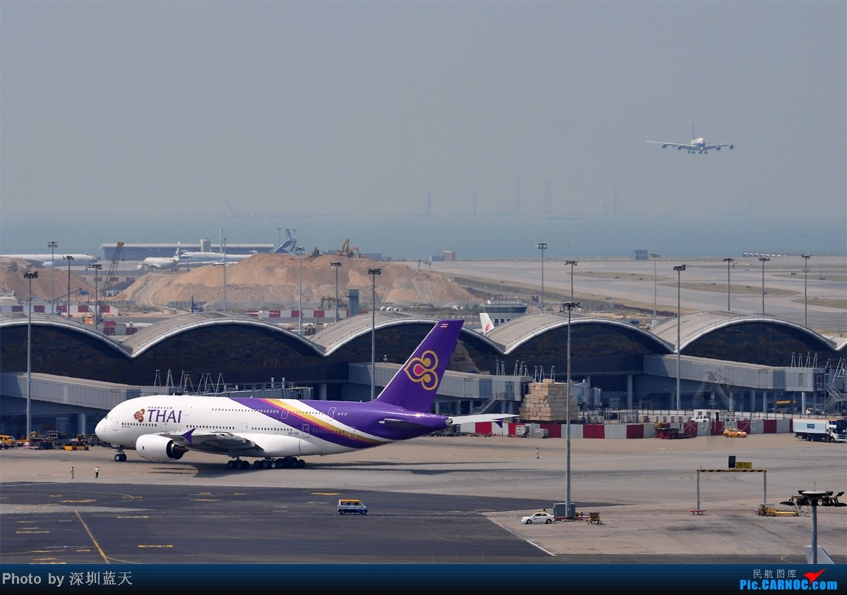 """Re:[原创]【深圳飞友会】见证""""泰美丽""""A380首航香港,并与南航A380历史合影"""