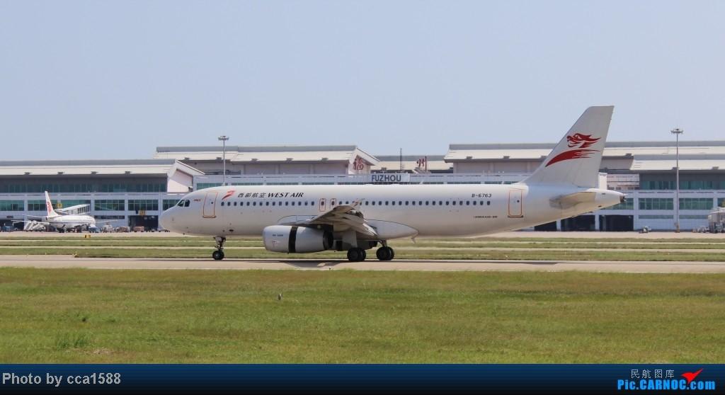 Re:[原创]10.9FOC拍机【有军机,通用航空塞斯纳,直升机】! AIRBUS A320-200 B-6763 中国福州长乐机场