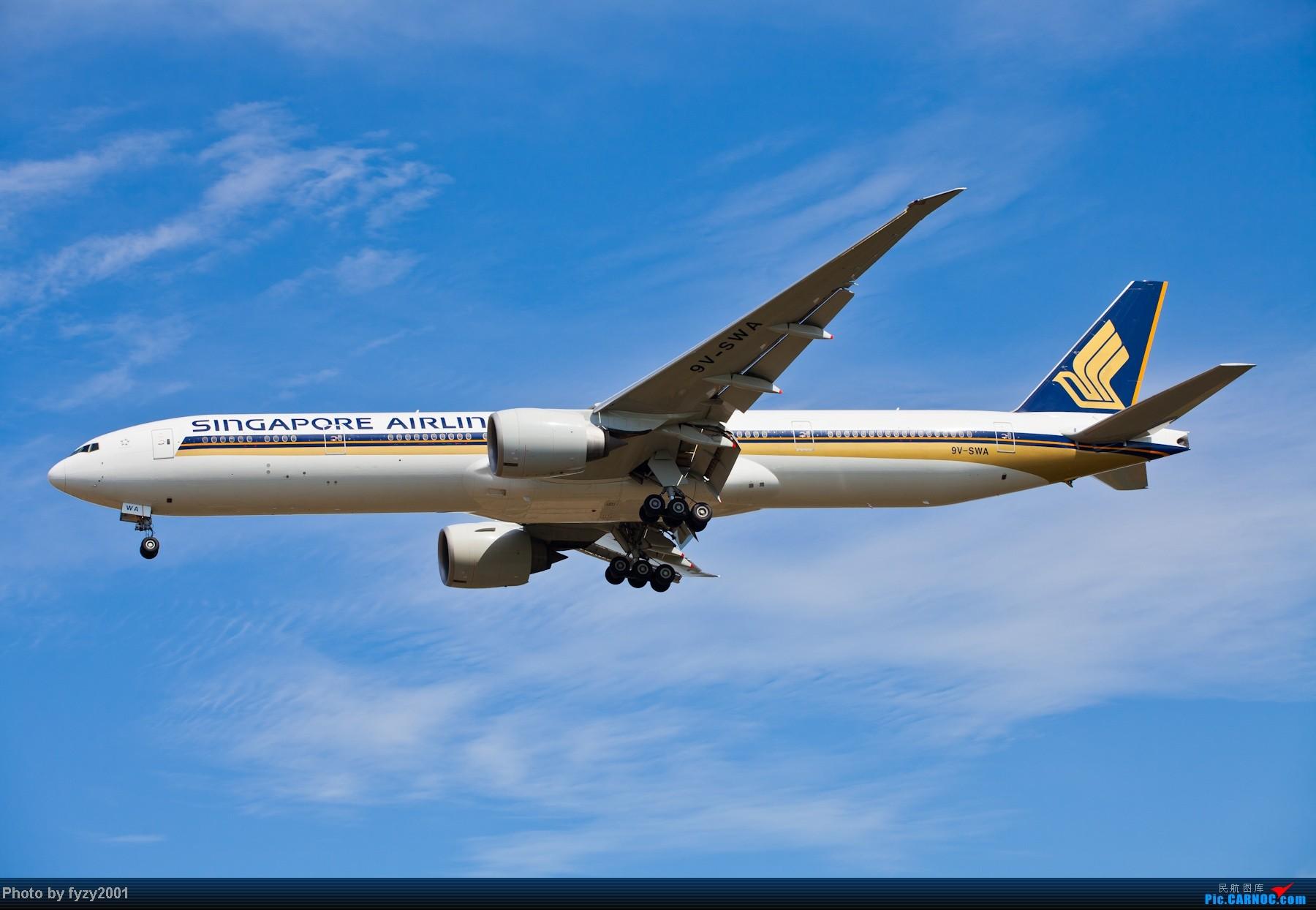 Re:[原创][无锡西站]长假PVG蹲守~~~~只发大图,多图杀猫~~~~ BOEING 777-300ER 9V-SWA 中国上海浦东机场