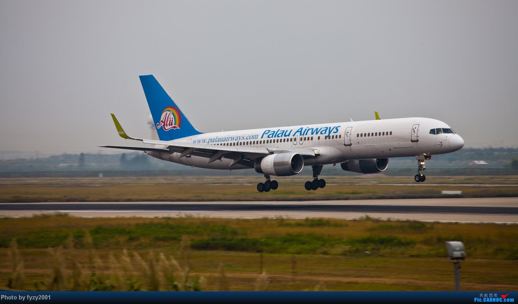 Re:[原创][无锡西站]长假PVG蹲守~~~~只发大图,多图杀猫~~~~ BOEING 757 XU-TSC 中国上海浦东机场
