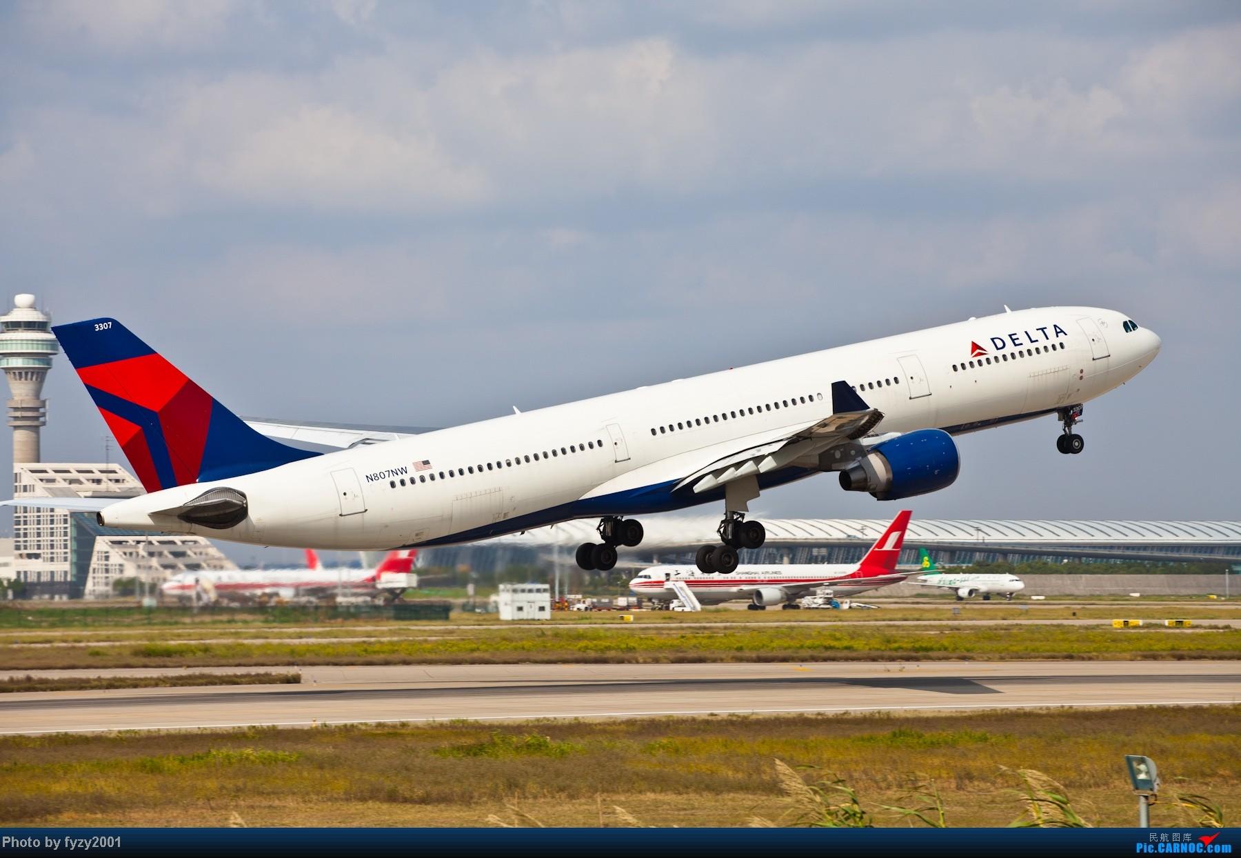 Re:[原创][无锡西站]长假PVG蹲守~~~~只发大图,多图杀猫~~~~ AIRBUS A330-300 N807NW 中国上海浦东机场