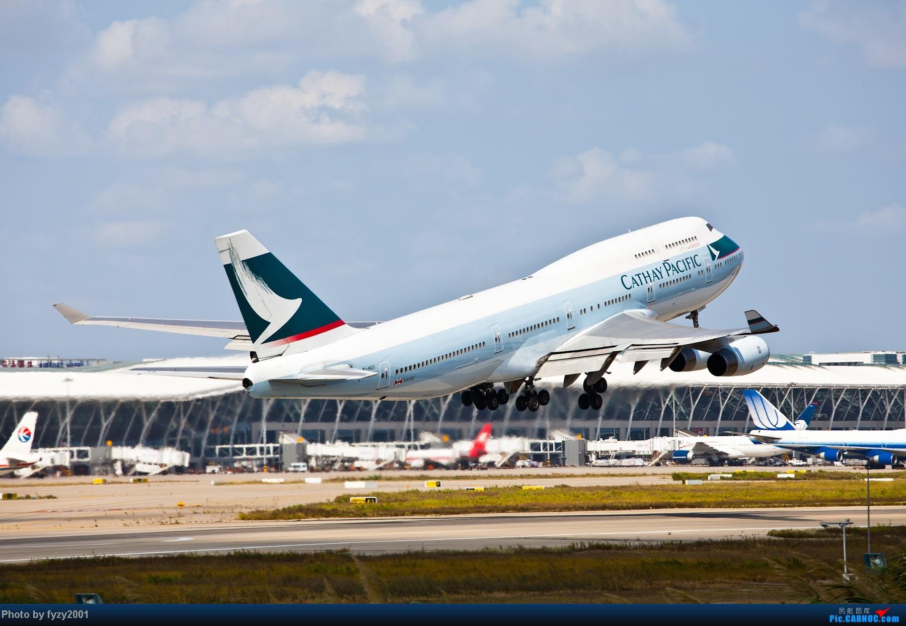 Re:[原创][无锡西站]长假PVG蹲守~~~~只发大图,多图杀猫~~~~ BOEING 747-400 B-HUL 中国上海浦东机场