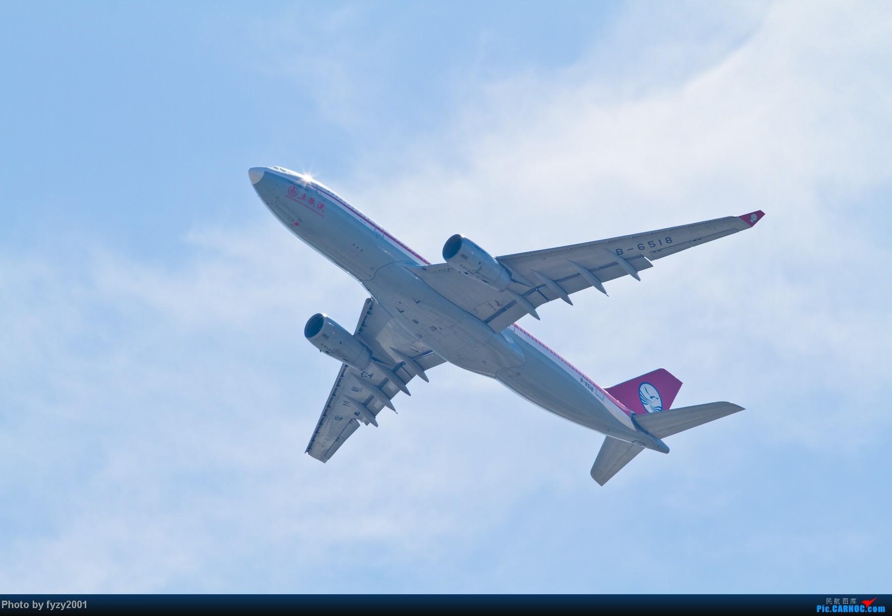 Re:[原创][无锡西站]长假PVG蹲守~~~~只发大图,多图杀猫~~~~ AIRBUS A330-200 B-6518 中国上海浦东机场