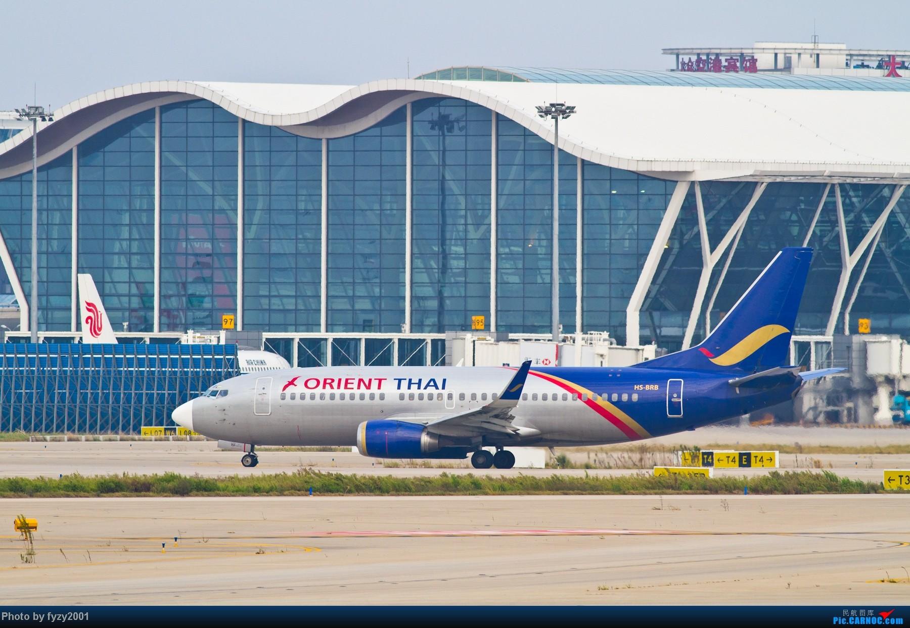Re:[原创][无锡西站]长假PVG蹲守~~~~只发大图,多图杀猫~~~~ BOEING 737-300 HS-BRB 中国上海浦东机场