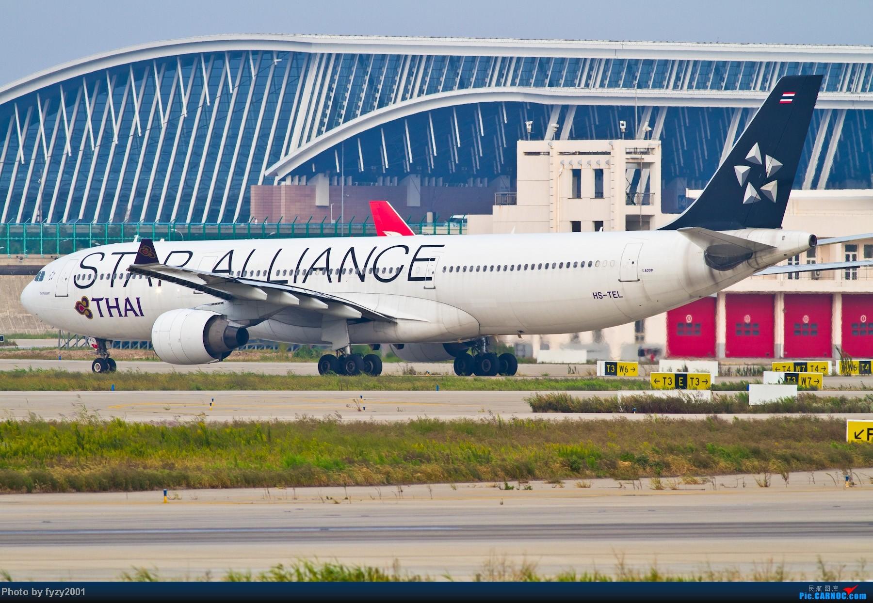 Re:[原创][无锡西站]长假PVG蹲守~~~~只发大图,多图杀猫~~~~ AIRBUS A330 HS-TEL 中国上海浦东机场