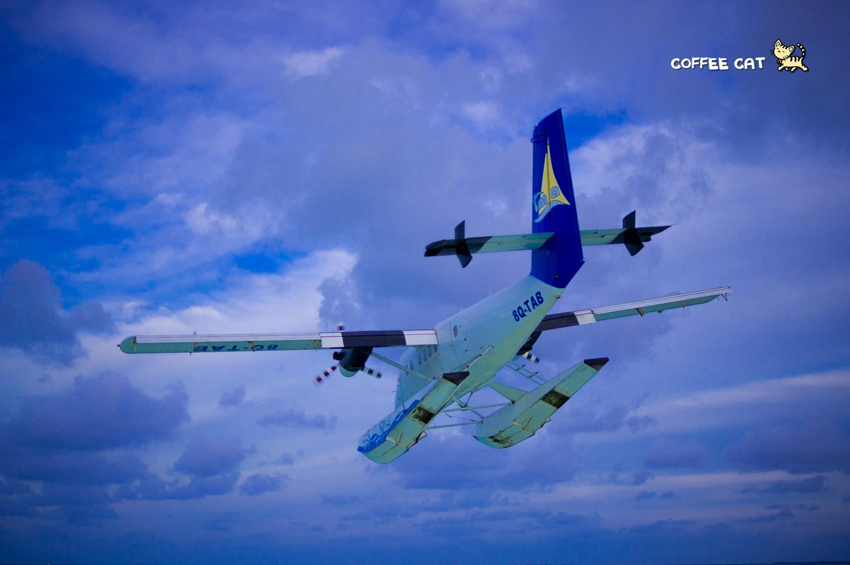 Re:[原创]去马尔代夫旅行的一些杂图~ DE HAVILLAN CANADA DHC-6-300