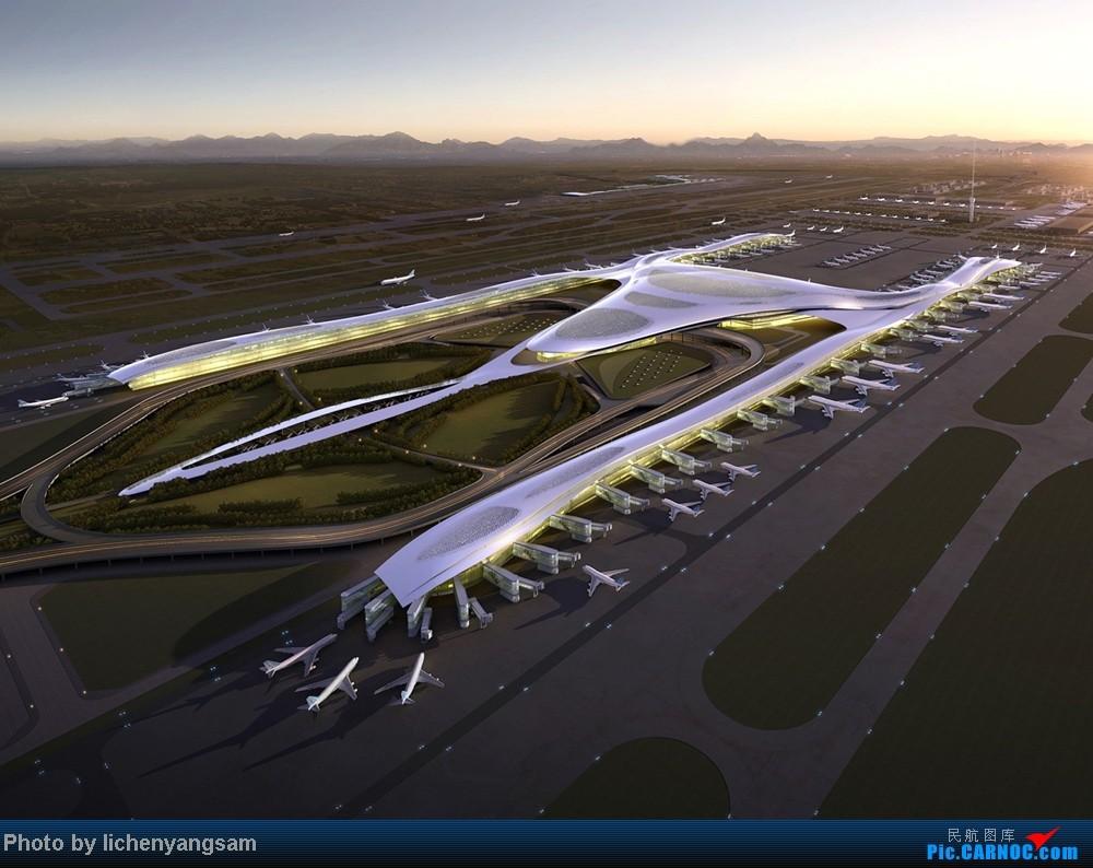 [原创]乌鲁木齐机场T4or新机场规划图!!美爆了!    中国乌鲁木齐地窝堡机场