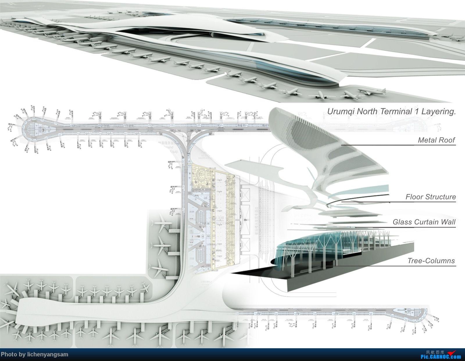 Re:[原创]乌鲁木齐机场四期or新机场规划图!!美爆了!    中国乌鲁木齐地窝堡机场