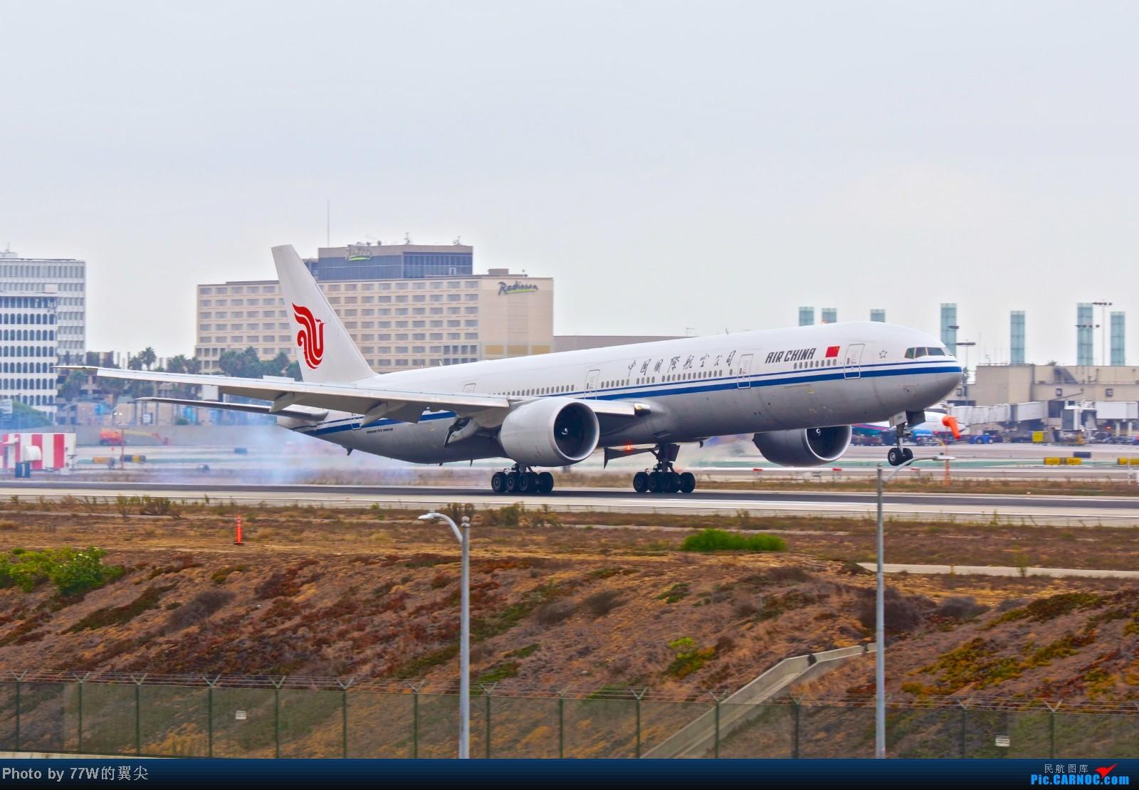 Re:[原创][LAX]---不一样的LAX ---阴天777合集  一次看个够 BOEING 777-300 B-2090 美国洛杉矶机场