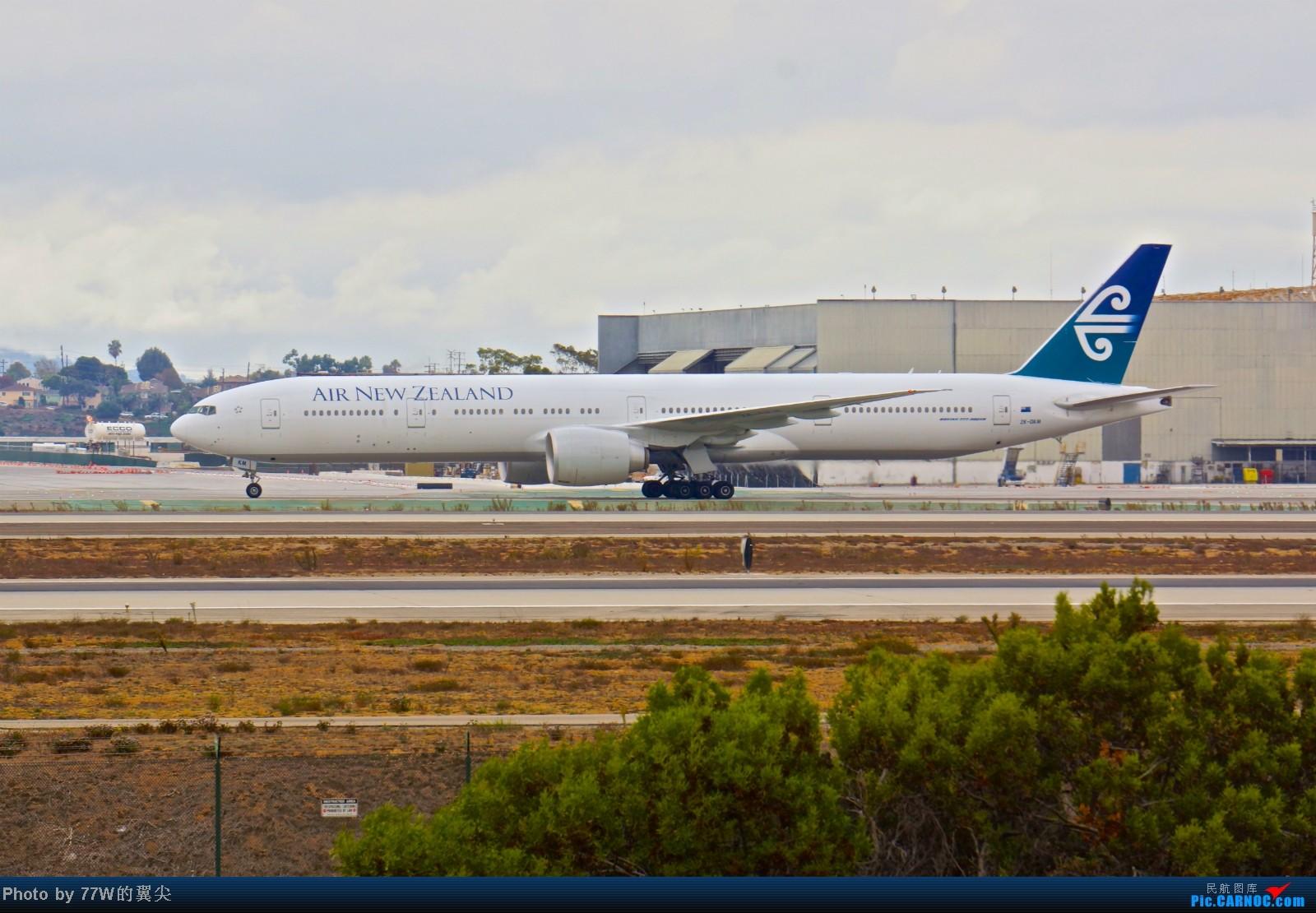 Re:[原创][LAX]---不一样的LAX ---阴天777合集  一次看个够 777-319/ER ZK-OKM 美国洛杉矶机场