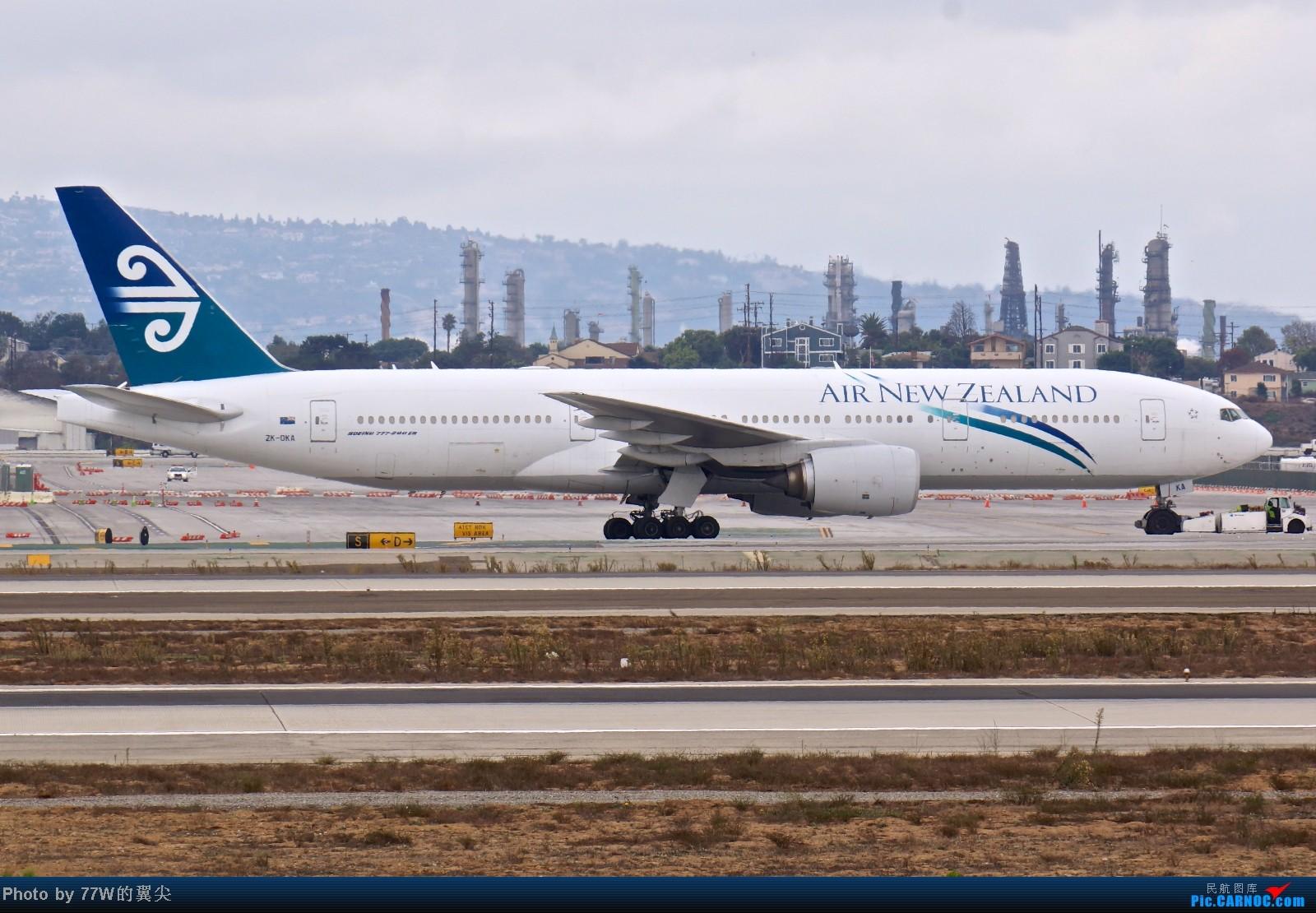 Re:[原创][LAX]---不一样的LAX ---阴天777合集  一次看个够 777-219/ER ZK-OKA 美国洛杉矶机场