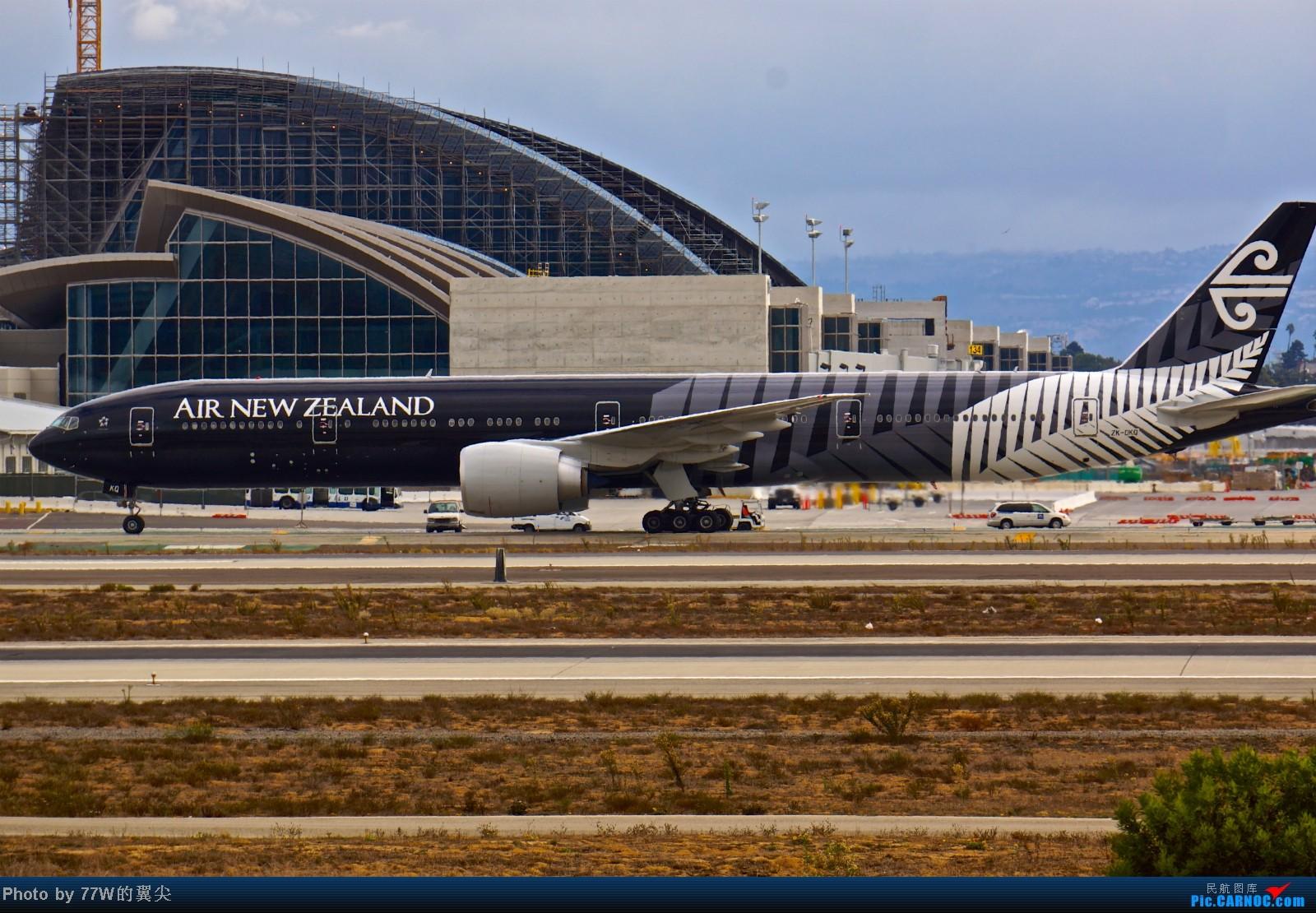 Re:[原创][LAX]---不一样的LAX ---阴天777合集  一次看个够 777-319/ER ZK-OKQ 美国洛杉矶机场