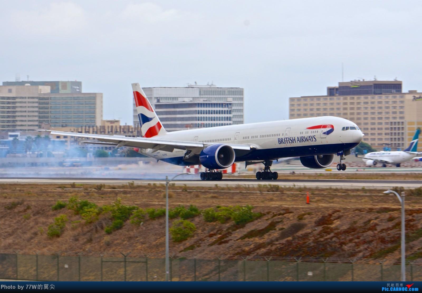 Re:[原创][LAX]---不一样的LAX ---阴天777合集  一次看个够 777-36N/ER G-STBC 美国洛杉矶机场
