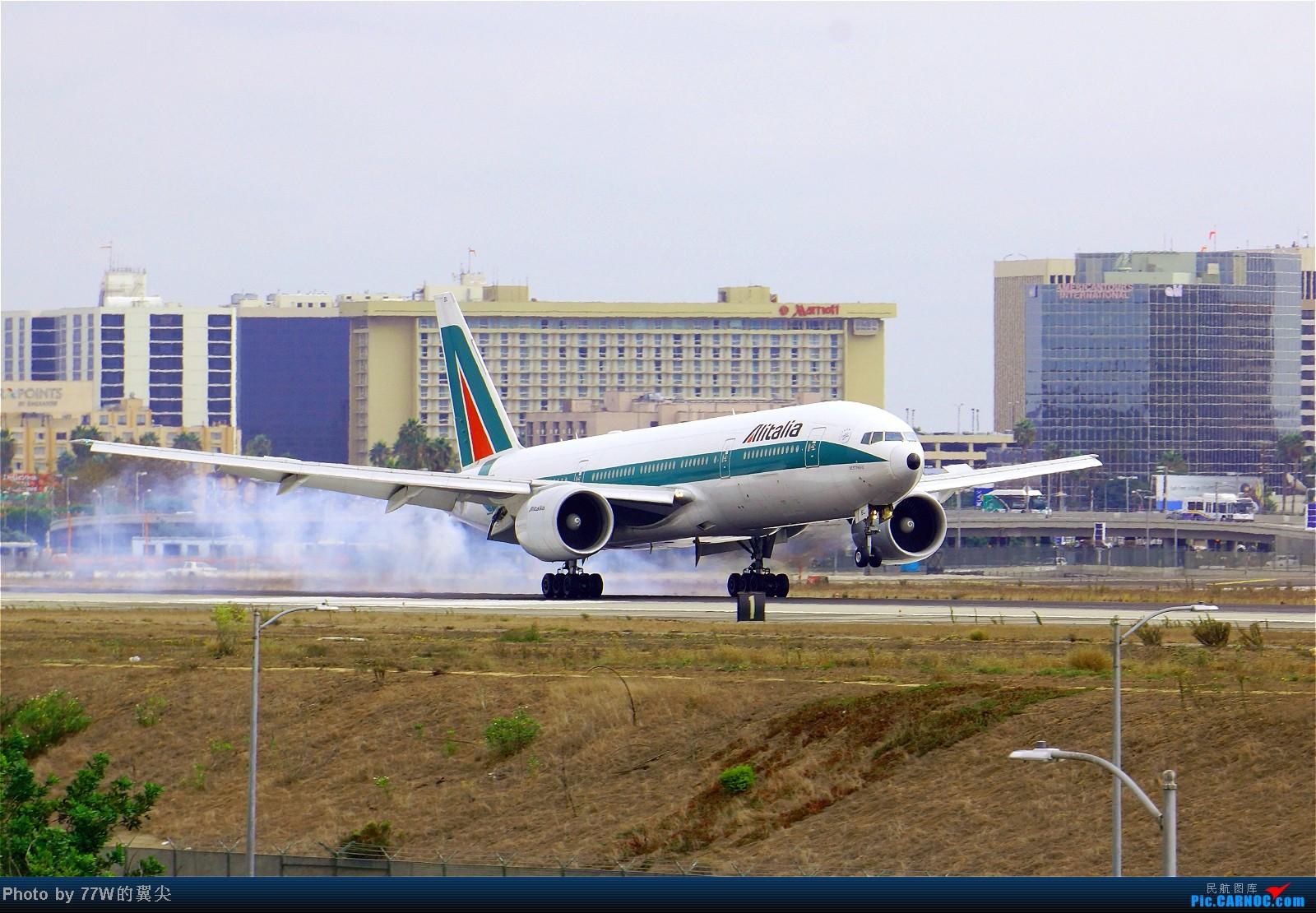 Re:[原创][LAX]---不一样的LAX ---阴天777合集  一次看个够 777-243/ER EI-DBL 美国洛杉矶机场