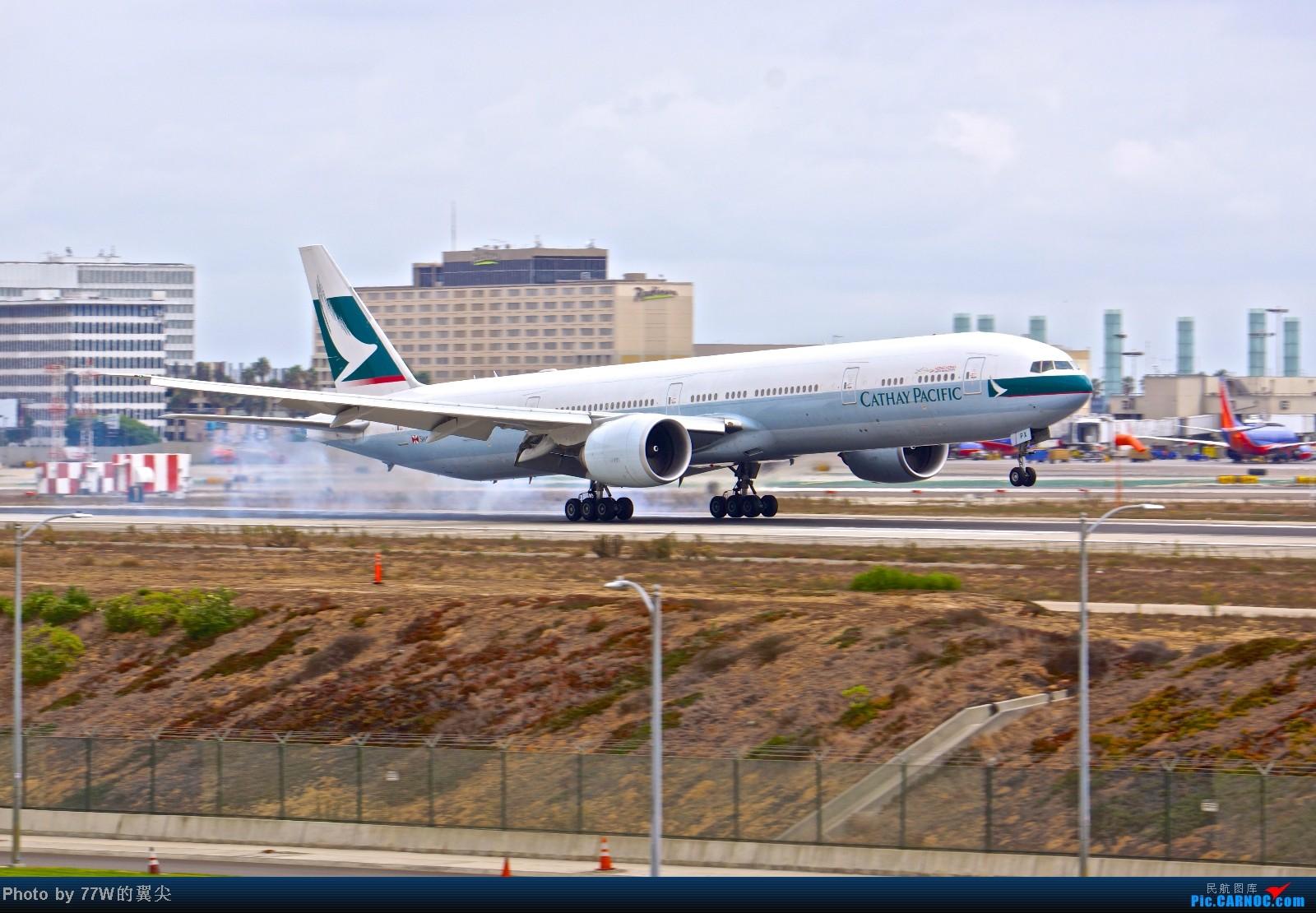 Re:[原创][LAX]---不一样的LAX ---阴天777合集  一次看个够 777-367/ER B-KPX 美国洛杉矶机场