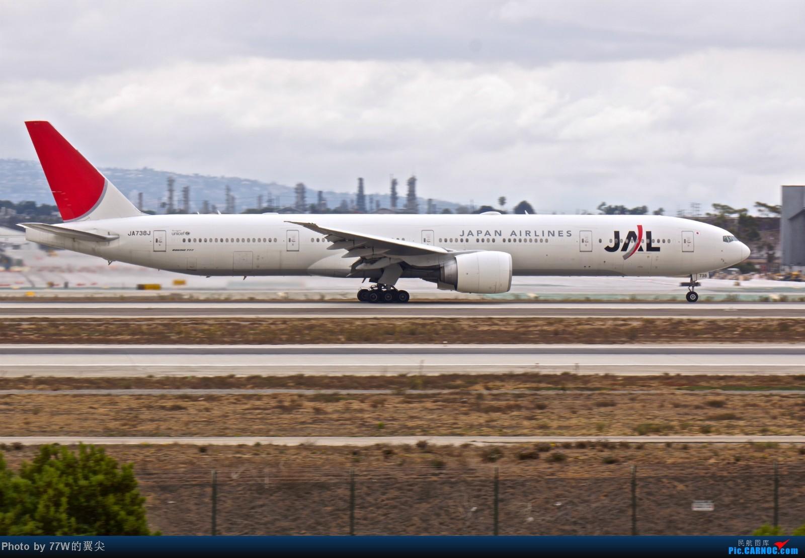 Re:[原创][LAX]---不一样的LAX ---阴天777合集  一次看个够 777-346/ER JA-738J 美国洛杉矶机场