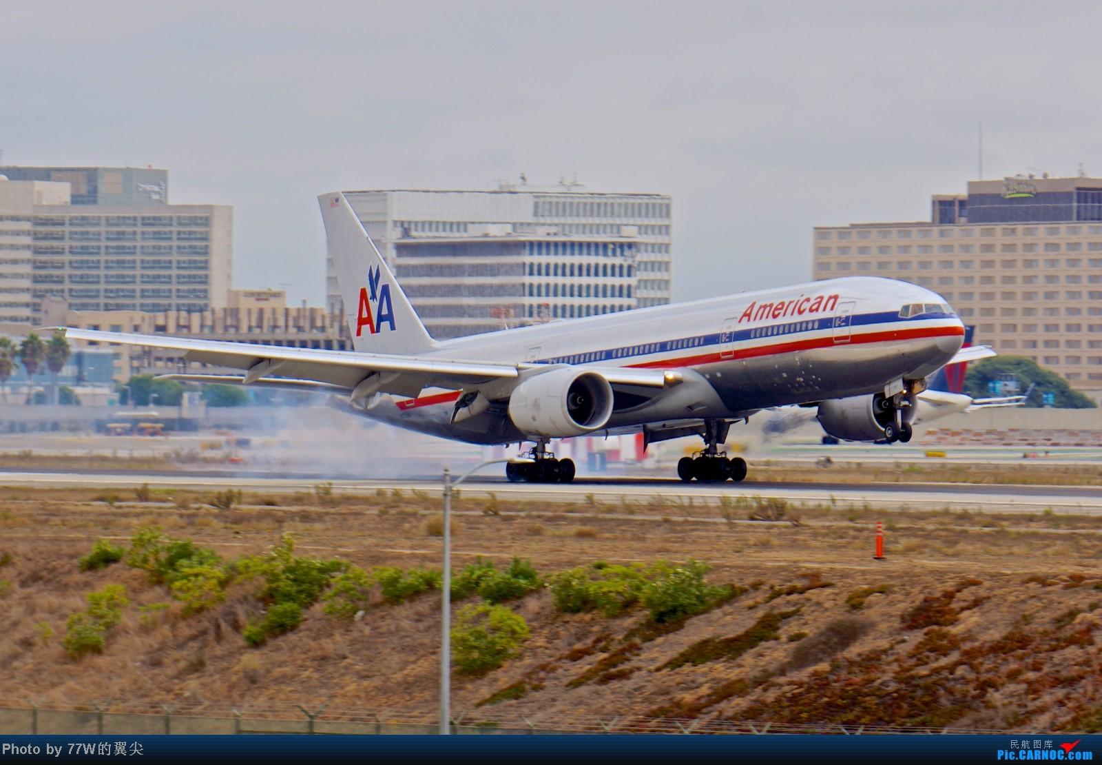 Re:[原创][LAX]---不一样的LAX ---阴天777合集  一次看个够 777-223/ER N755AN 美国洛杉矶机场