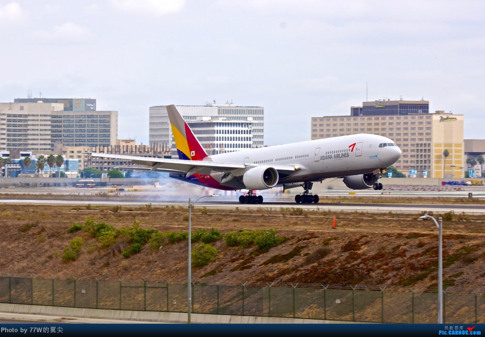 Re:[原创][LAX]---不一样的LAX ---阴天777合集  一次看个够 777-28E/ER HL7739 美国洛杉矶机场