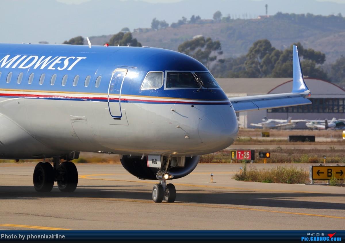 Re:[原创]SBA聖巴巴拉 週末拍擊作業 EMBRAER E-190 N168HQ 美国圣芭芭拉机场