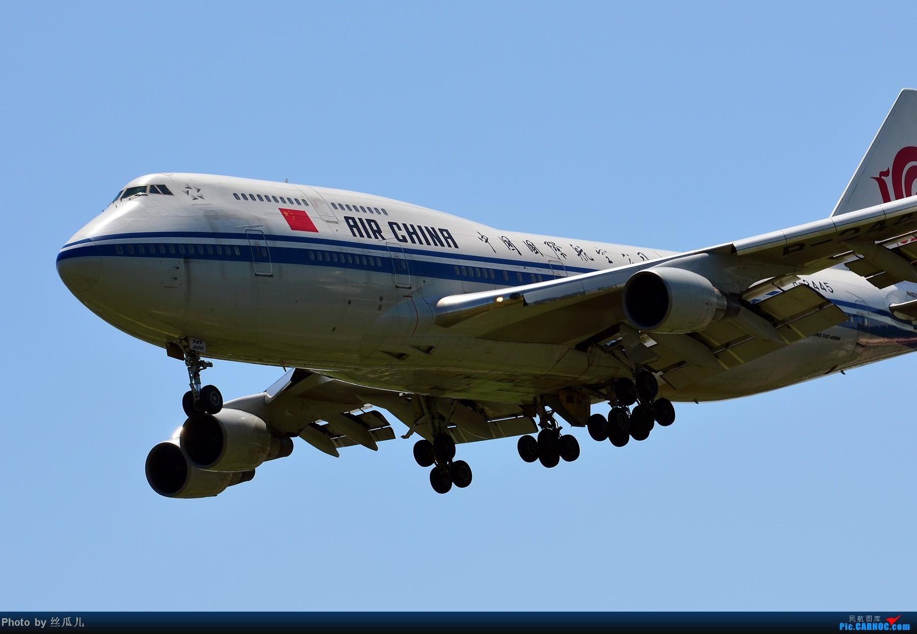 Re:发完木航发擦航,继续发图解闷 BOEING 747-4J6 B-2445 中国北京首都机场