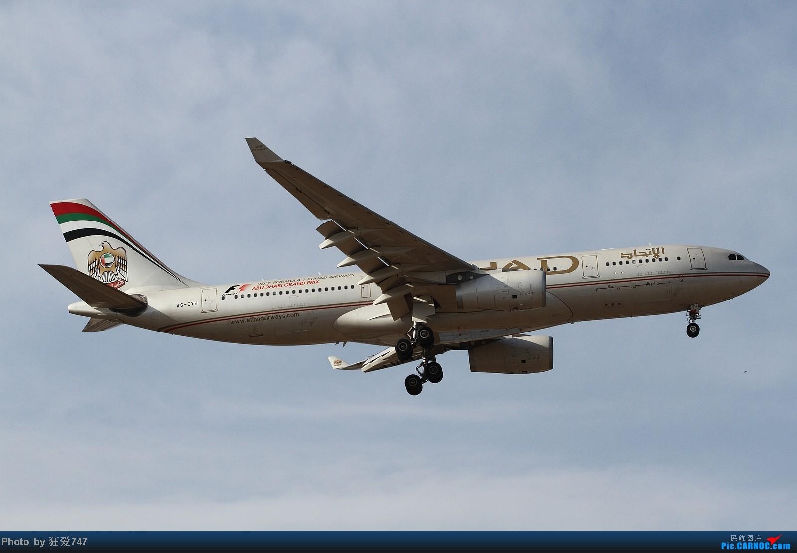 [原创]今天守候01带来的收获 AIRBUS A330-200 A6-EYH 中国北京首都机场