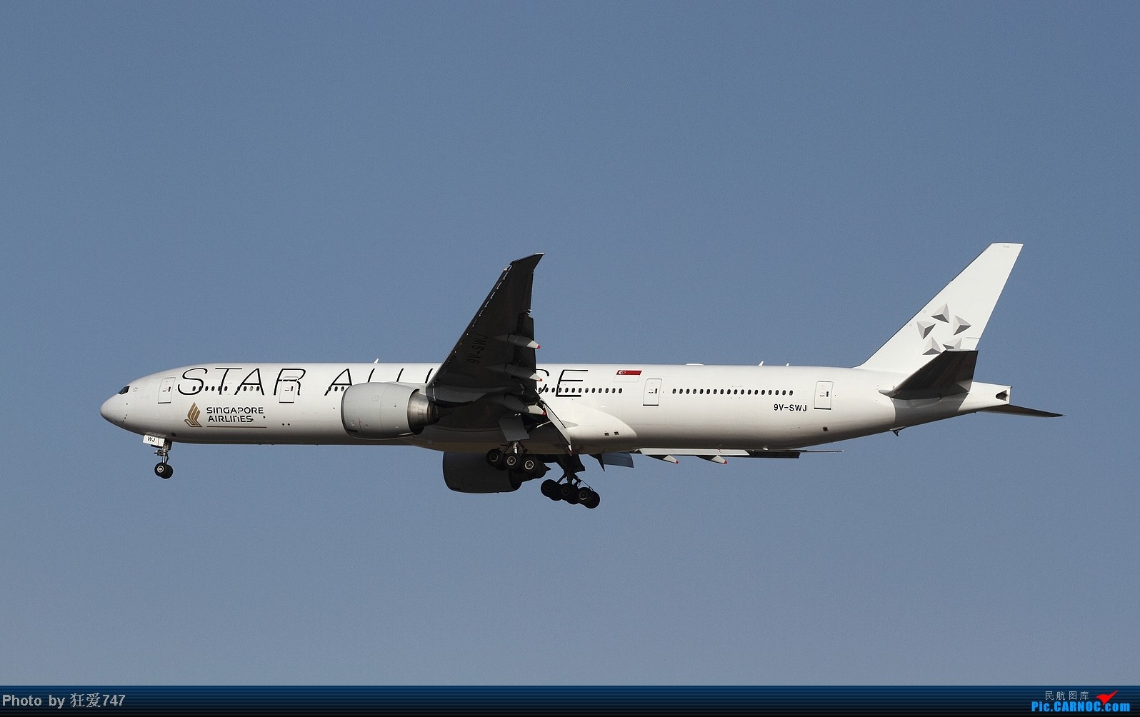 Re:[原创]今天守候01带来的收获 BOEING 777-300 9V-SWJ 中国北京首都机场